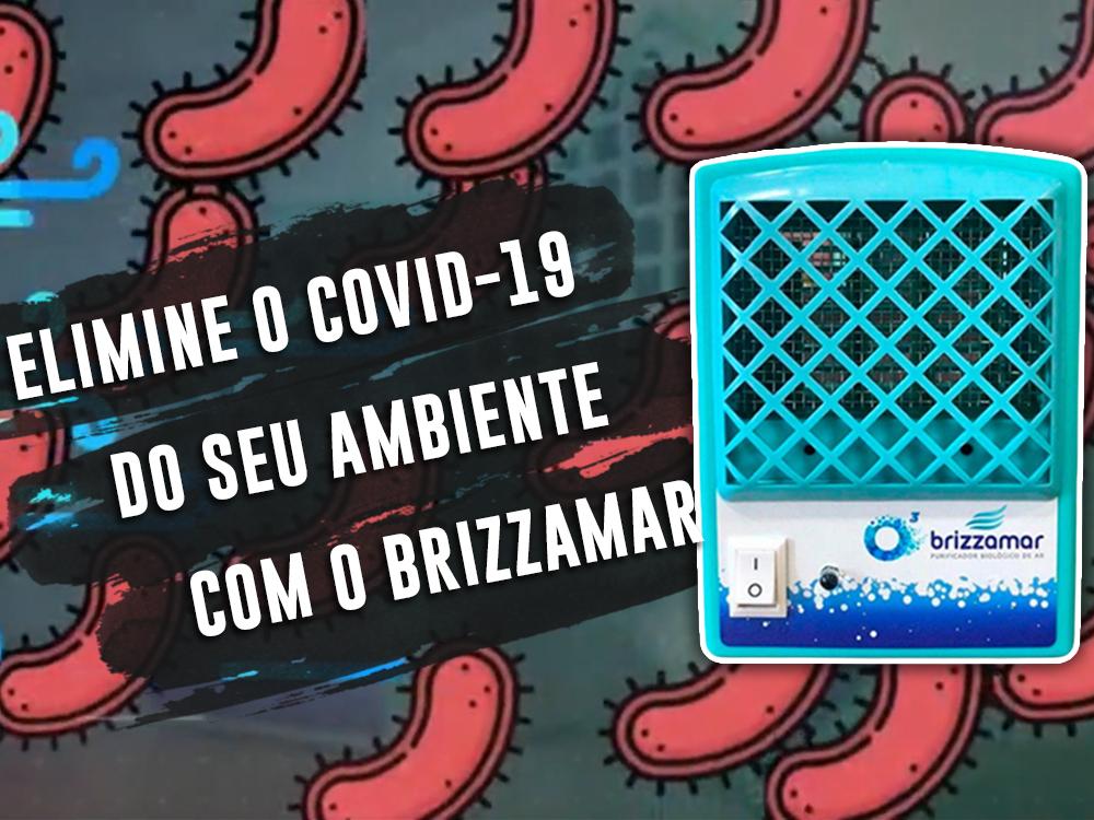 Purificador Biológico De Ar - Brizzamar